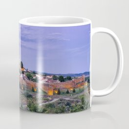 Braganca, Portugal at dusk Coffee Mug