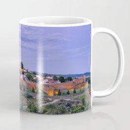 Braganca, Portugal at dusk Coffee Mug