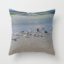 Make a Resolution Throw Pillow