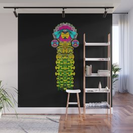 Love me give me a home indoors popart Wall Mural