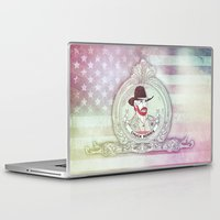 chuck Laptop & iPad Skins featuring Chuck Noris by rudziox