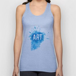 A Blast of Art Unisex Tank Top
