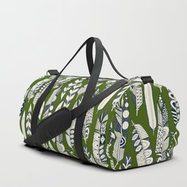 joyful feathers green Duffle Bag