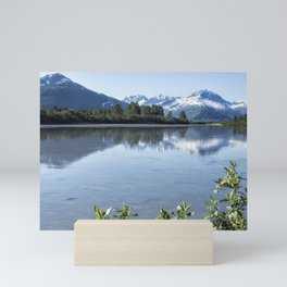 Placer River at the Bend in Turnagain Arm, No. 1 Mini Art Print