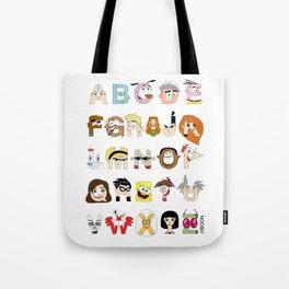 Child of the 00s Alphabet Tote Bag