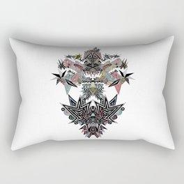 Mirror Parrot Rectangular Pillow