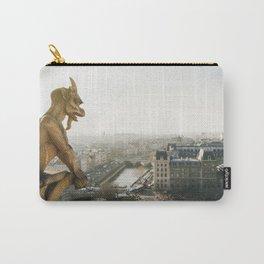 Gargoyle in Paris Carry-All Pouch