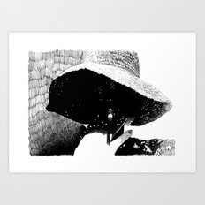 The Smoke Art Print