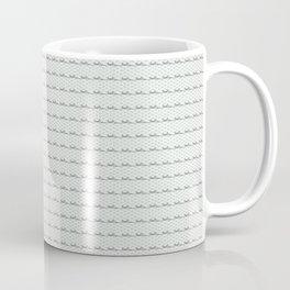 Phillip Gallant Media Design - Black Squiggles on White Coffee Mug