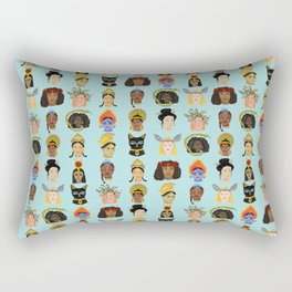 Goddesses Around the World Rectangular Pillow