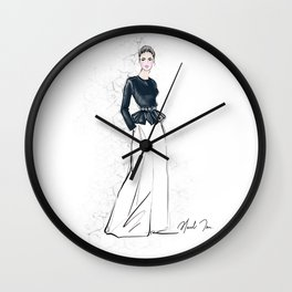 Cara Girl Wall Clock
