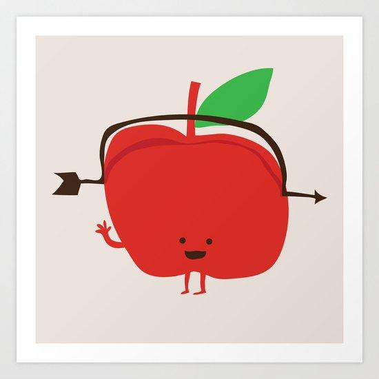 The Apple and The Arrow Art Print