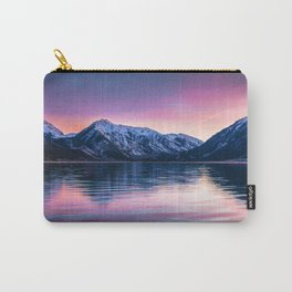 Sunset over twin lakes Carry-All Pouch