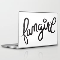 fangirl Laptop & iPad Skins featuring fangirl by Fortissimo6
