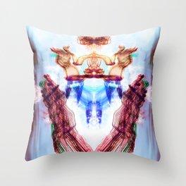 Torrent Throw Pillow