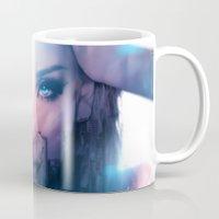 america Mugs featuring America  by LC_Korim