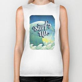 Surf's Up Biker Tank