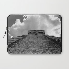 Chichen Itza Cloud Crown Laptop Sleeve
