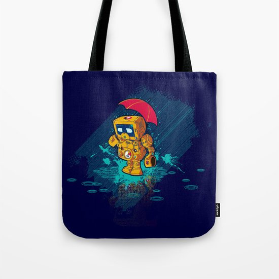 TINY ROBOT Tote Bag