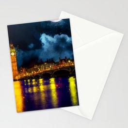 london-skyline-england-landmark Stationery Cards