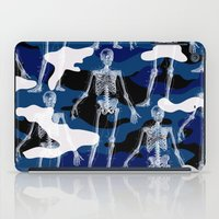 skeleton iPad Cases featuring SKELETON by DIVIDUS