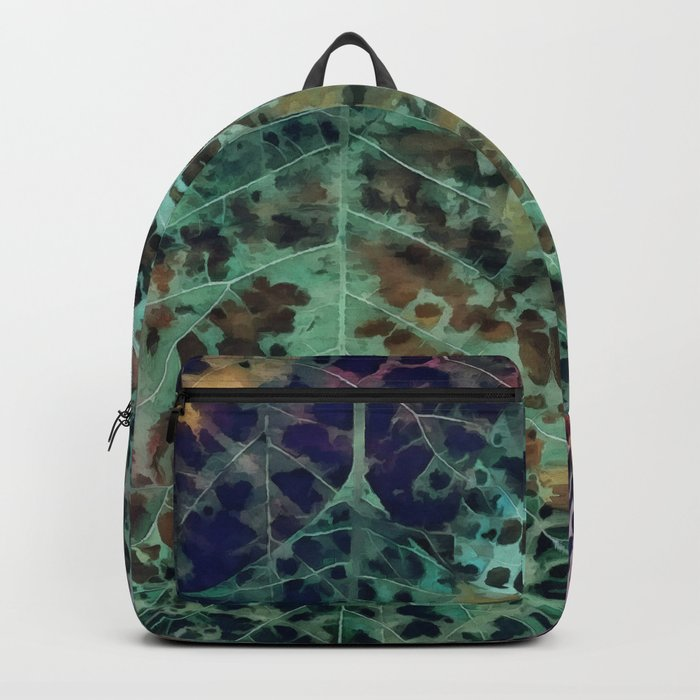 Colorful leaves Backpack