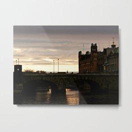 Norrbro Sunset Metal Print