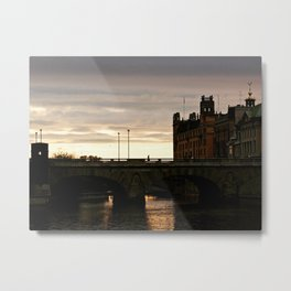Norrbro Sunset Metal Print