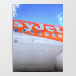 EasyJet Airbus A320 Poster