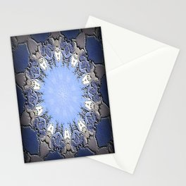 Polished Stone Metal Element Mandala Stationery Cards