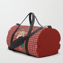 Deer. Patchwork Duffle Bag