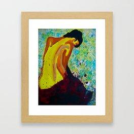 Raw Emotion Framed Art Print