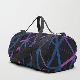 3D Futuristic GEO Lines Duffle Bag