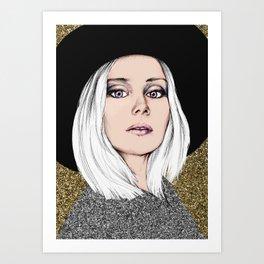 Siri Art Print