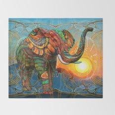 Elephant's Dream Throw Blanket