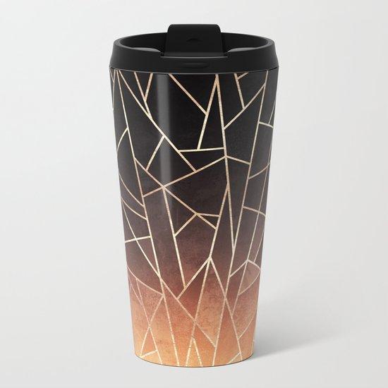 Shattered Ombre Metal Travel Mug