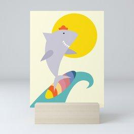 sea shark Mini Art Print