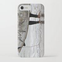 surfboard iPhone & iPod Cases featuring Surfboard 2 by Becky Dix