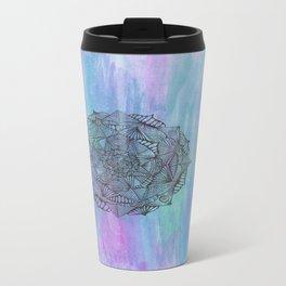 colourful mandala Travel Mug