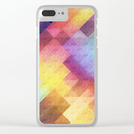 Pattern 8 Clear iPhone Case