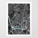 Bristol Map (noir) by sprkwd