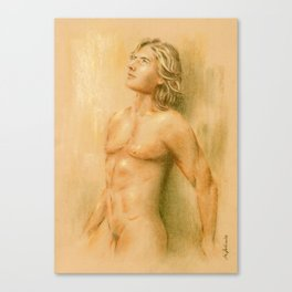 Adonis - Male Nude Canvas Print