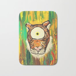 Tiger Spirit Animal Bath Mat