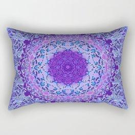 Wisteria Mandala Rectangular Pillow