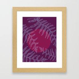 Viola Violento Framed Art Print