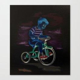 Trike (invert) Canvas Print
