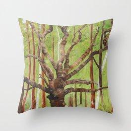 Ancient Oak Throw Pillow