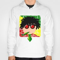 reggae Hoodies featuring Reggae Kazoo by mailboxdisco