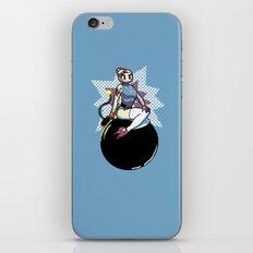Bomber Babe iPhone & iPod Skin
