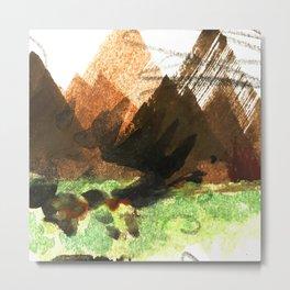 Mount-bits Metal Print